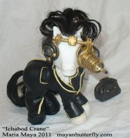 Ichabod Crane My Little Pony by mayanbutterfly
