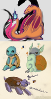 Pokemonday Practice by ZombieMonsters