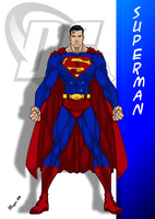 DC Comic's Superman by skywarp-2