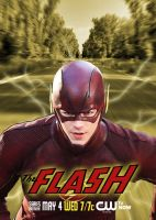 The Flash TV Series Poster by Rated-R4-Ryan