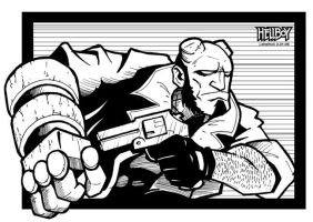 Hellboy JAM submission by justicefrog