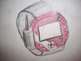 digivice idea by thebloodredwolf
