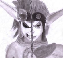Dark Normal Jak by ZoraSteam