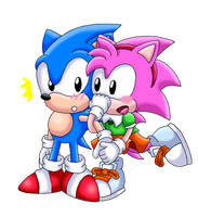 .:AT:. Got You, My Darling Sonic by Seltzur-The-Hedgehog