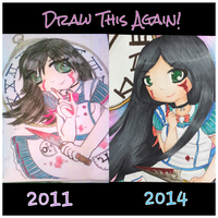 Draw This Again-Alice the Madness Returns by DollFacedMassacre