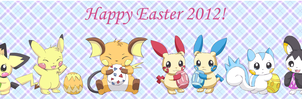 Happy Easter 2012 by pichu90
