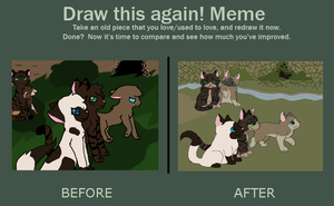 Our Ceremony Before and After by GiggleKittyx3