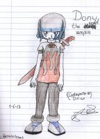 ::New character::Dony The Angel Vampire by Nite3007