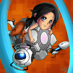 Chell - Portal 2 by project-l