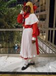 [Touhou Cosplay] Worried About Her Other Half by Naudae