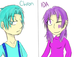 Request: Chiron And IDA by ADark-Cold-World