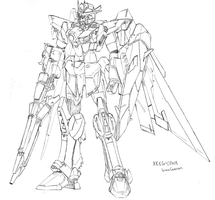 XXXG-01WX Wing Gundam SR Cst. by StrikeRougeMk2