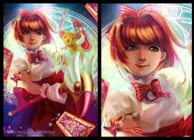 Card captor sakura _Fanart by fatbear1991