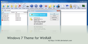 Windows 7 Theme for WinRAR by K-Ikki