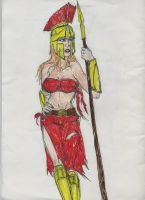 Sparta daugher of ares by theaven