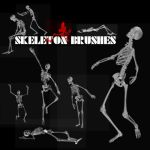 Skeleton Brushes by KrisPS