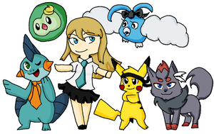 New Pokemon Trainer by Keyroy