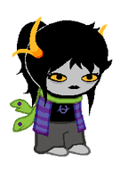 official sprite: Elaphe by windbladeicepuppy
