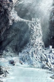 Cavern Fortress - Winter by fervalosious