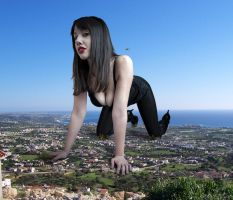 Giantess Ceara Lynch by TPL8