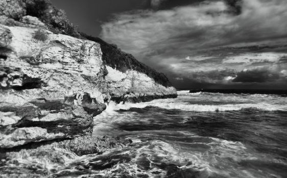 Port Campbell B/W by l32