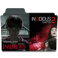 Insidious 1-2 2010 2013 Folder icon by sonerbyzt