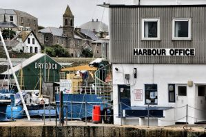 Harbour by cahilus