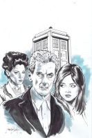 Doctor Who 12 by ShawnVanBriesen