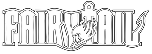 Fairy Tail logo - Line art by UsagiTail