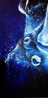 The Cerulean Rhino by JeffreeScot
