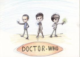 Lent Day 5 Doctor who by Star-light-angel