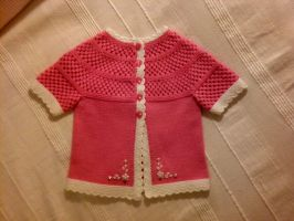 Pink Jacket for Girl Toddler by ToveAnita