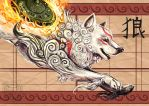 Amaterasu by CraftyMarten