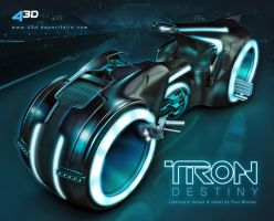 Tron Destiny light cycle by Paul-6