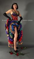 Moulin Rouge Ensemble by FoxGloveFashions