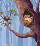 Owl Goodnight by LiaSelina