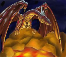 Lava Nest by dragonrage-