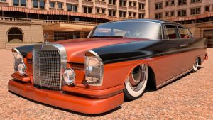 1961 Mercedes Benz 300SE by SamCurry