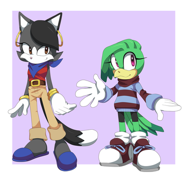 sylvester and tweety by AwesomeBlossomPossum