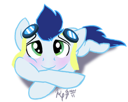 Soarin. Stop being so adorable. by gsdpup