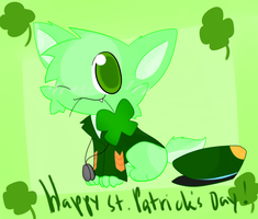 Happy Early St.Patrick's day by chibitracy