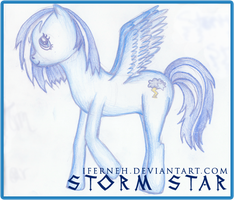Storm Star, Me new pony by iFerneh
