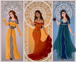 ASOIAF: Ladies by moonprincess22