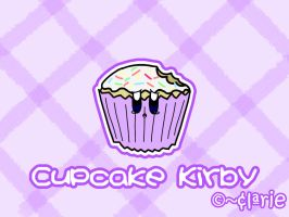 Cupcake Kirby by clariecandy