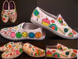 Candy shoes. by GeekerSneakerUK