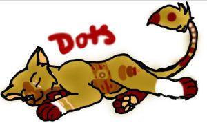Dots the Mood Lion by lubca