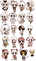 commissions -- marker cheebs by onisuu