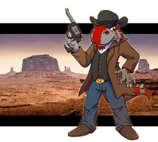 Wild wild West by Surrial