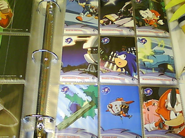 .:Sonic X Cards:. 82 - 90 by SEGAMew