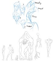 Character Design class - Assign 4 part 2 by SycrosD4